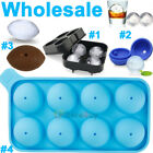 10x ICE Ball Maker Round Sphere Tray Mold Cube Whiskey Cocktail Silicone 3 Model $5.99 USD on eBay