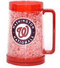 MLB Washington Nationals 16 oz Plastic Crystal Freezer Mugs in Red on Ebay