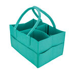 Portable Felt Baby Diaper Caddy Organizer Foldable Storage Bag for Kids Nappies