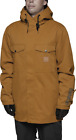 NWT MENS THIRTYTWO BRONSON SNOW JACKET $220 copper sherpa lined snowboard