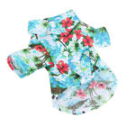Pet Dog Hawaiian Shirt Beach Clothes Vest Floral Printed Top For Small Large New