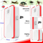 1/2/4 PCS Ultrasonic Pest Repeller UK Plug In Pest Rodent/Rat /Mice/Spider/Insec