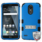 For LG Stylo 3 Natural TUFF Hybrid Phone Armor Impact Protector Cover w/Stand