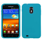 Soft Silicone Case +Screen Film Cover For Epic Touch 4G D710/Galaxy S2 R760