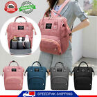Внешний вид - Mummy Maternity Nappy Diaper Bag Large Capacity Baby Travel Backpack Handbag New
