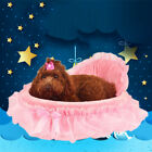 Lace Princess Dog Bed Soft Sofa For Small Dogs Puppy cat House Pet Bedding US