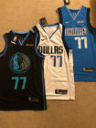 Luka Doncic #77 Dallas Mavericks Men's Swingman City Edition /Blue/ White JerseyBasketball-NBA - 24442
