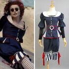 Movie Sweeney Todd Mrs Lovett By The Sea Dress uniform cosplay Costume Custom