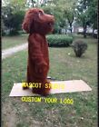 Dog Mascot Costume Cosplay Party Game Dress Outfit Advertising Christmas Adult @