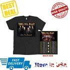 New Shirt Tour 2019 Three Dog Night ShirtT-Shirt Full Size Black Official Tee