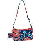 Sun 'N' Sand Nautical Crabs Quilted Small Crossbody Cross-Body Bag NEW