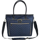 "Kenneth Cole Reaction Chelsea Quilted Chevron 15"" Women's Business Bag NEW"