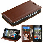 For Nokia Microsoft Lumia 435 Slim Wallet Book Style Case Cover Card Holder