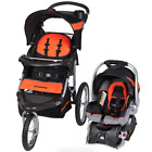 Baby Trend Expedition Jogger Travel System Infant Car Seat Canopy Cup Holders