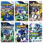 Wii - Sonic - Same Day Dispatched - Boxed - Vgc - *multi Listing*