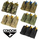 Kyпить Condor MA55 Tactical MOLLE PALS Triple Kangaroo Rifle/Pistol Magazine Mag Pouch на еВаy.соm