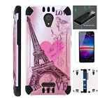 COMBATGUARD For Wiko Ride Phone Case Cover+TEMPERED GLASS I9