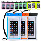 "3PCS Swimming Waterproof Underwater Pouch Bag Dry Case Up to 6.5"" Cellphone"
