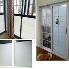 US Bathroom Home Glass Window Door Sticker Privacy Film PVC Frosted Sticker