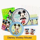 Disney MICKEY MOUSE Birthday Party Ranges - Tableware Supplies Decorations