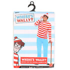 SMIFFYS WHERES WALLY ADULTS COSTUME WORLD BOOK DAY CHARACTER NOVELTY FANCY DRESS