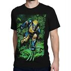 Wolverine Savage Land Rampage Men's T-Shirt Black