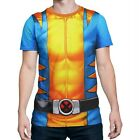 Wolverine Sublimated Costume Fitness T-Shirt Yellow