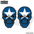 Bonnie Blue Flag Skull Decal SET American Civil War Vinyl Sticker V2 EVM