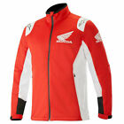 Alpinestars Honda Collection Red White Softshell Fleece Jacket NEW