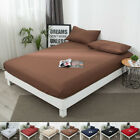 Mattress Cover Protector Elastic Soft Pure Cotton Terry Bed Full Queen King Home image