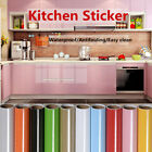 1m Modern Kitchen Wallpaper Oil-proof Ceramic Tile Self-adhesive Wall Stickers
