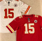 New PATRICK MAHOMES #15 Kansas City Chiefs Men's RED Football Jersey