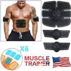 Electric Muscle Toner Machine Kit Wireless Toning Belt Simulation Abs Fat Burner image