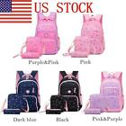 US Kids Fashion Honeycomb Strap Lightweight Primary Students Bookbag Backpack 03