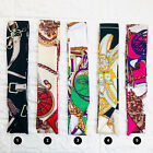 Silk Twilly Scarf Twill Handbag Handle Wrap Purse Scarves Hair Bow Ribbon Cover