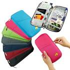 Внешний вид - Travel Passport Credit ID Card Cash Wallet Purse Holder Case Document Bag US