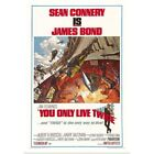 You Only Live Twice - Vintage Movie Poster Art Print, Movie Home Decor $33.99 USD on eBay