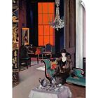 """""""Interior - The Orange Blind, c.1928"""" Wall Decal"""