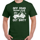 Defenders T-Shirt Mens 4X4 Off Road Land Driving Club Funny Rover Jeep Top
