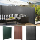 Pvc Screen Fence Fencing Garden Privacy Panel Wind Sunshade Panels Fixing Covers