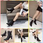 New women's cross straps with Martin boots Slim boots stitching single boots