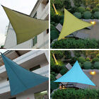 Triangle Sun Shade Sail Garden Patio Shadecloth Canopy UV Block Top Shelter