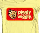 Piggly Wiggly T-shirt retro 70's 80's vintage brands cotton printed graphic tee image