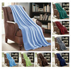 "X LARGE Soft Micro Plush Flannel Fleece Throw Blanket New 60""x 80"" All Colors image"
