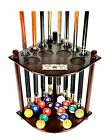 Cue Rack Only 8 Pool Billiard Stick & Ball Floor Stand with Scorer Choose $63.11 USD on eBay