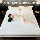 Queen Size Waterproof Mattress Encasement Bed Bug Hypoallergenic Protector  image