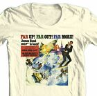 James Bond T-shirt 007 Her Majesty's Secret Service retro cotton graphic tee $19.99 USD on eBay