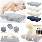 Contour Memory Foam Pillow Head Neck Back Support Orthopaedic Butterfly Shaped image
