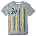 Oakland Athletics Big Logo Flag Tee by Forever Collectibles on Ebay
