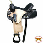 T206Bk Hilason Western Dressage Flex Tree Barrel Racing Trail Saddle 14 15 16 17